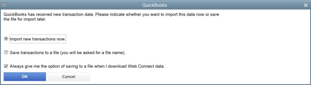 Download Banking into QuickBooks Desktop – Gentle Frog Custom