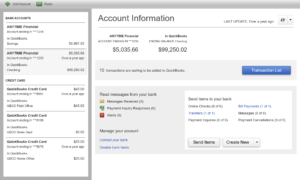 Download Banking into QuickBooks Desktop – Gentle Frog