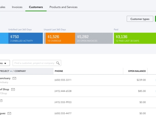 Adding and Removing Customers in QuickBooks Online