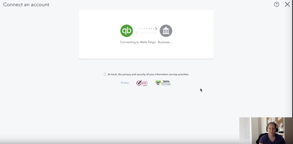 Creating a one way communication line with your banking institution.